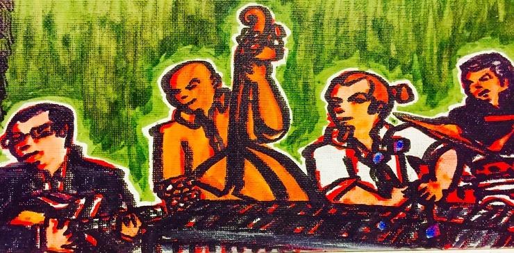 """Quartet In Green"""