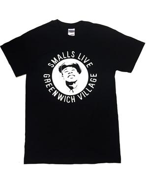 The official SmallsLIVE cotton t-shirt