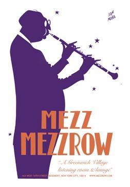 Mezz Mezzrow Poster